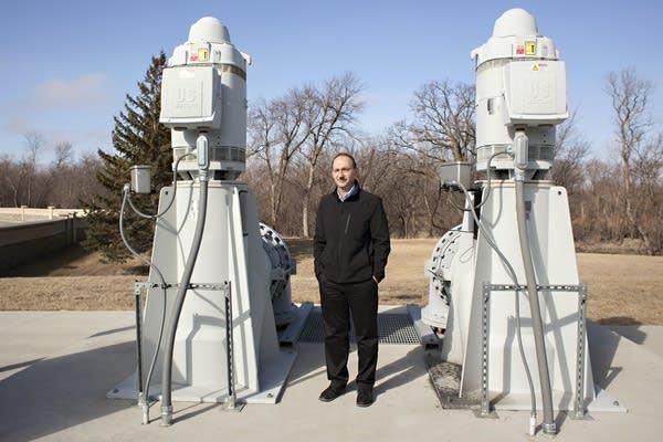 Moorhead  City Engineer Bob Zimmerman