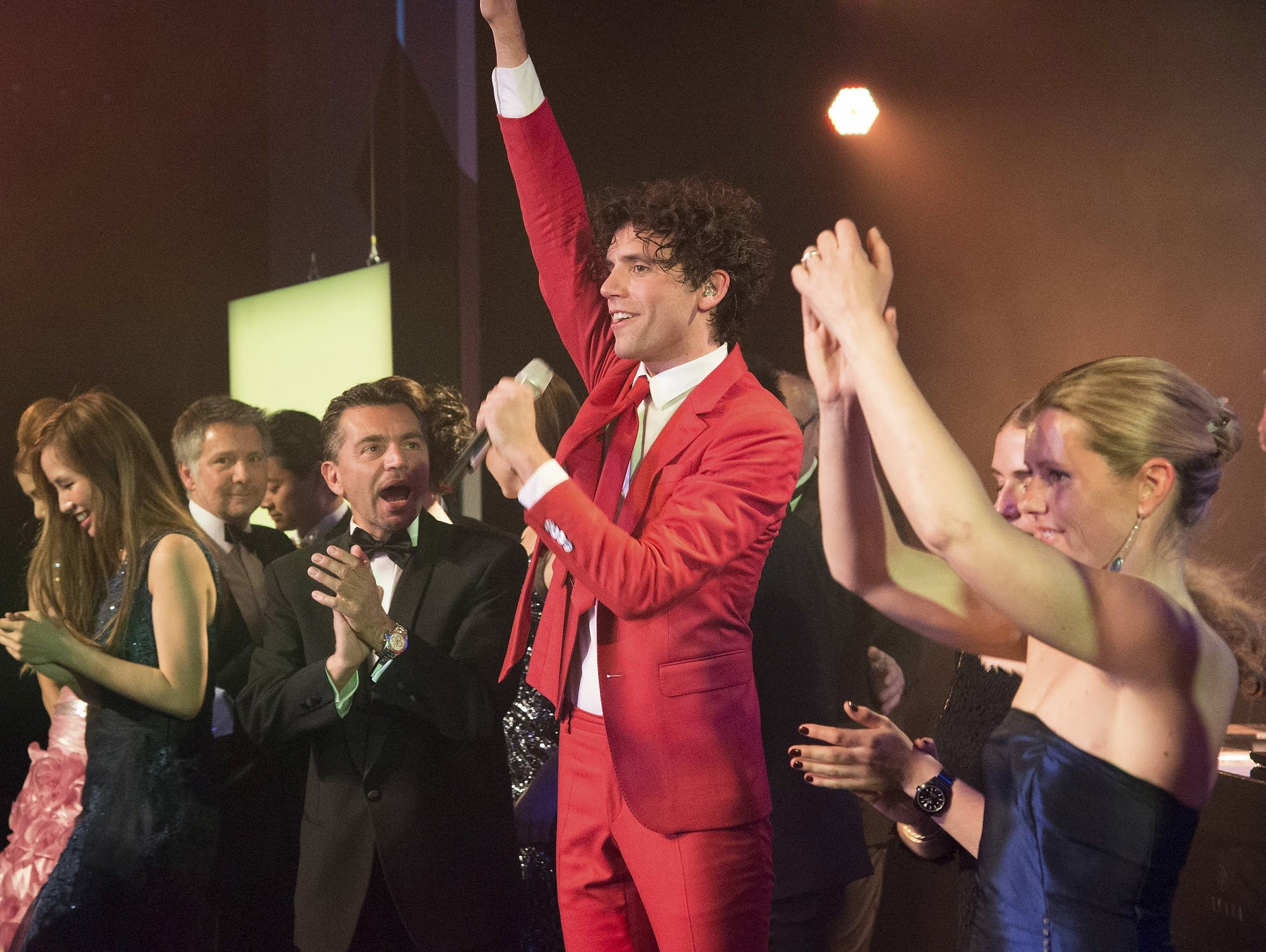 Mika performs for the Rose Ball 2014