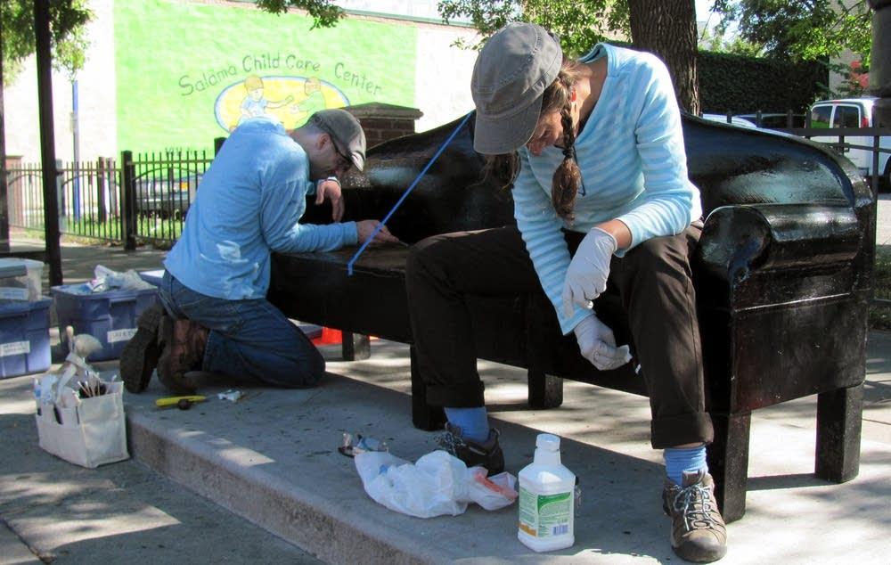 Restoring bench