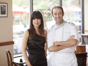 Sarah Hicks and Vincent Francoual