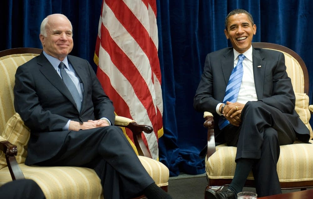Obama and McCain meet