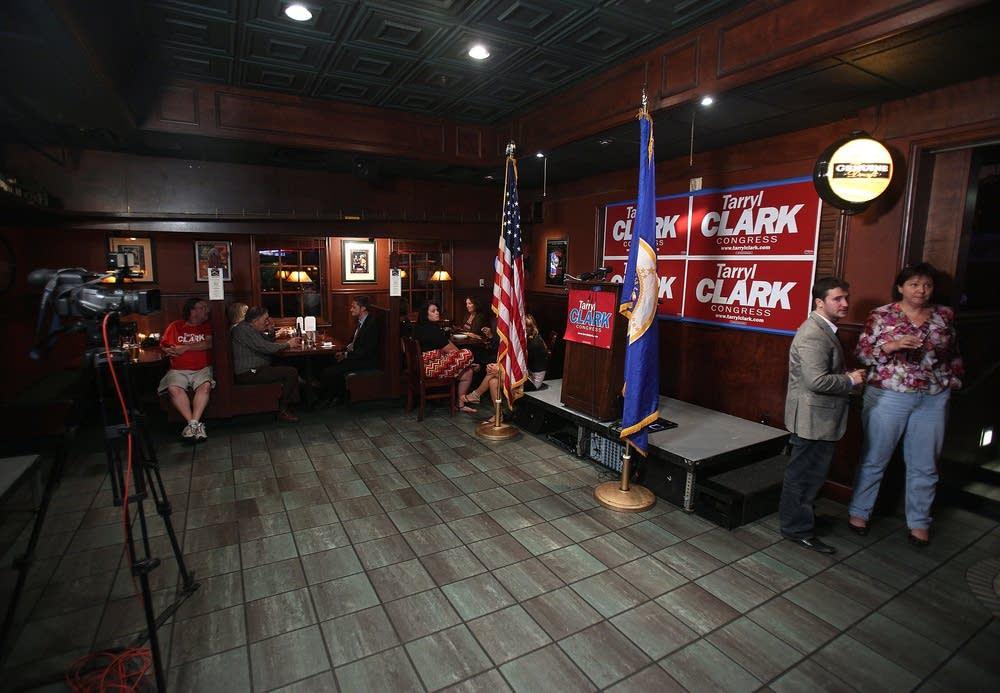 Tarryl Clark supporters