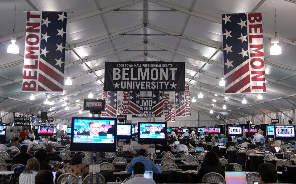 The debate at Belmont University