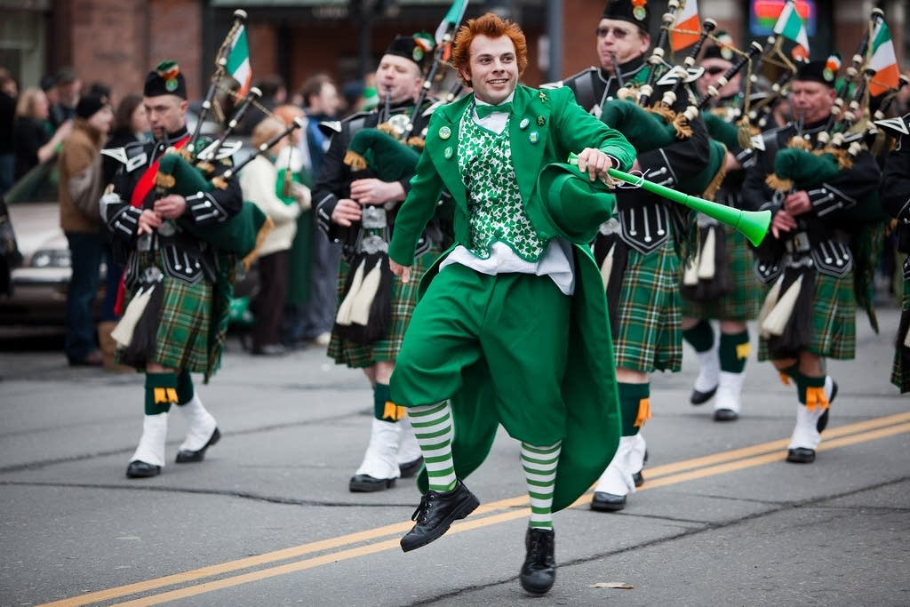 St Patrick's Day Parade in Albany, N.Y.