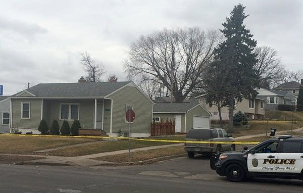 The scene of the shooting