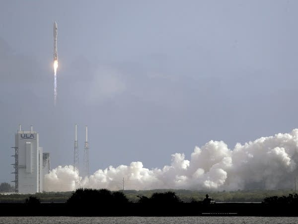 A rocket lifts off from Cape Canaveral Air Force Station