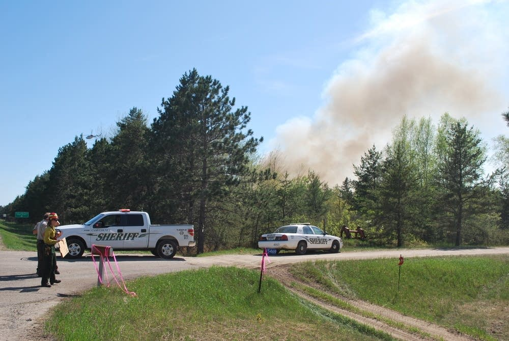 Cass Lake fire