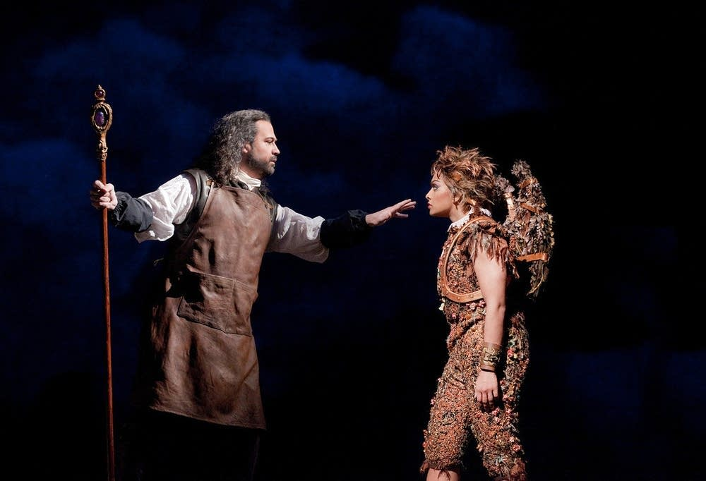Daniels as Prospero and de Niese as Ariel