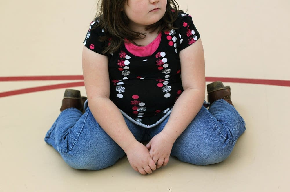 Children's hospital class for obese children