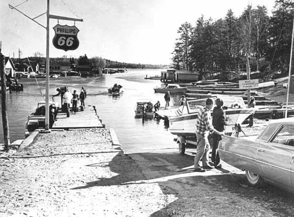 "Crane Lake's ""Gold Coast,"" circa 1968."
