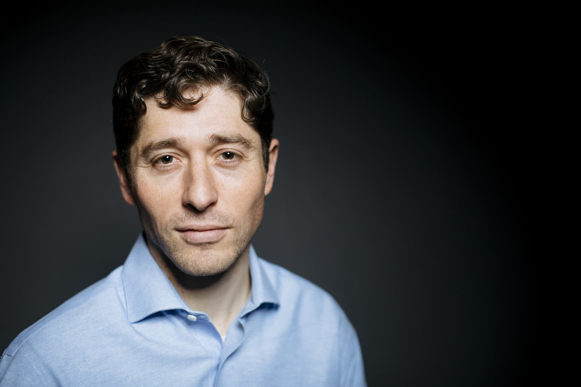 Jacob Frey sits for a portrait