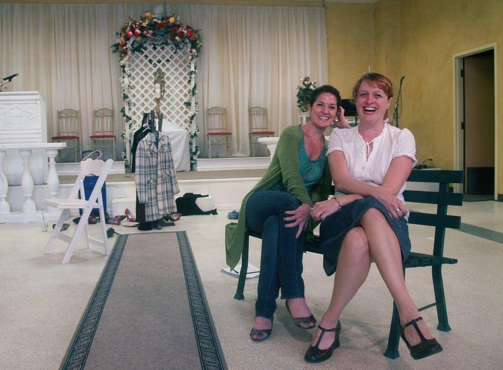 Carolyn Poole and Shanan Wexler
