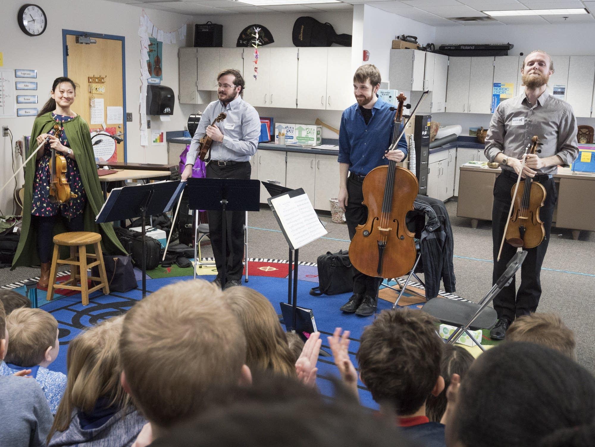 Lux String Quartet Meadowbrook