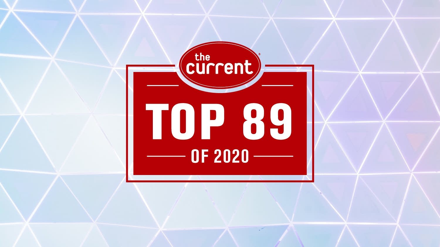 Top 89 of 2020 graphic