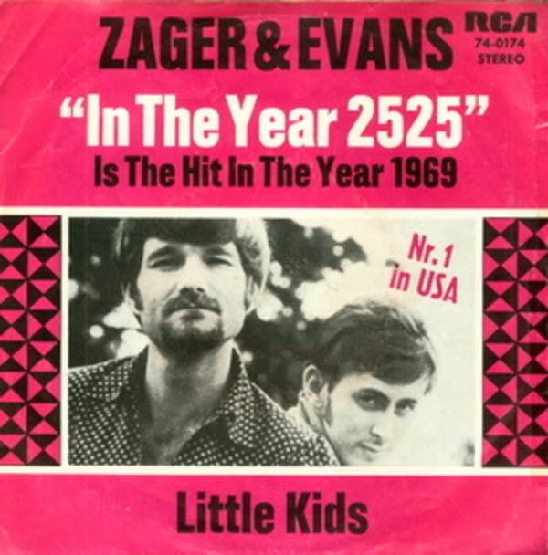 Today in Music History: Zager and Evans In The Year 2525