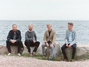 Members of the Danish String Quartet