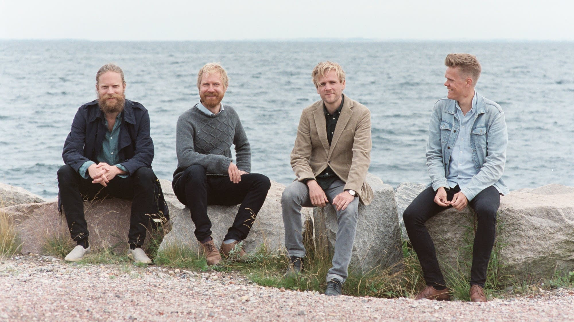 Members of the Danish String Quartet