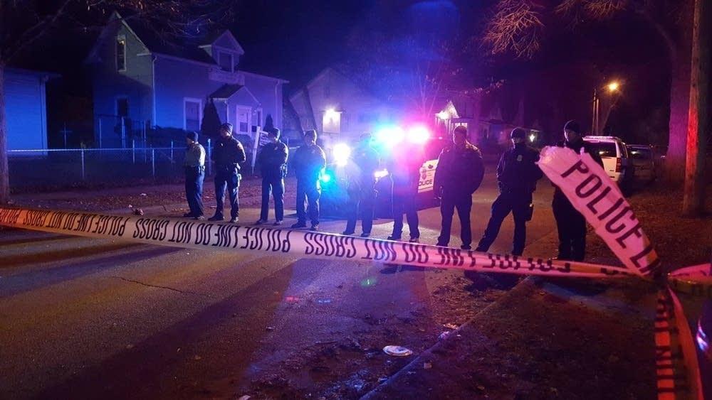 Several shot near 4th Precinct