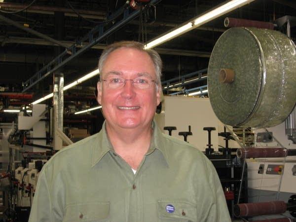 David Dillon in his factory