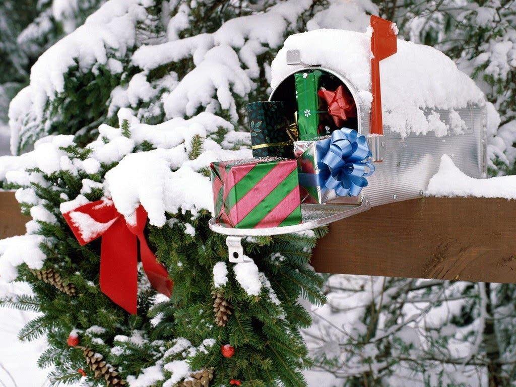 Winter mailbox