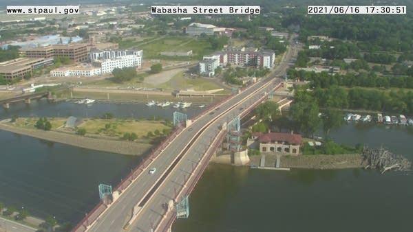 Mississippi River at St. Paul webcam