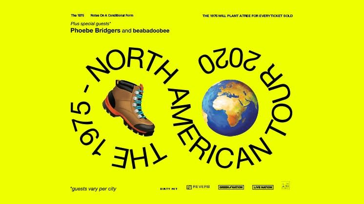 The 1975 North American Tour 2020