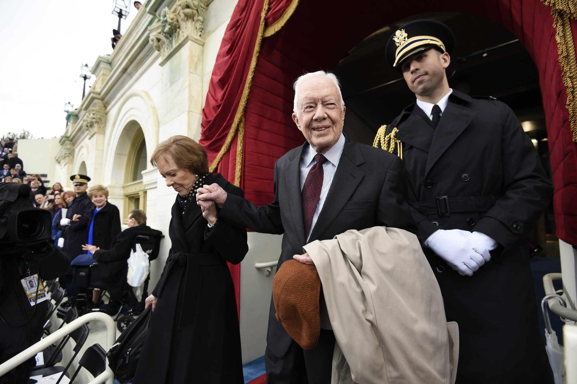 Former President Jimmy Carter and First Lady Rosalynn Carter