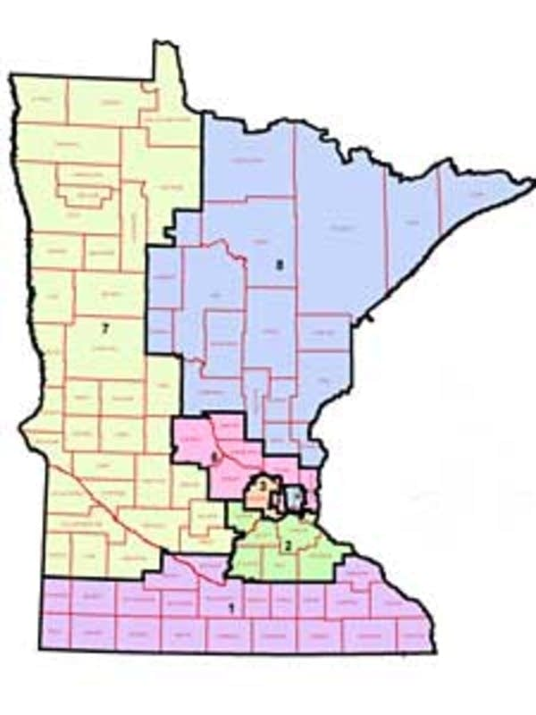 Minnesota's congressional districts