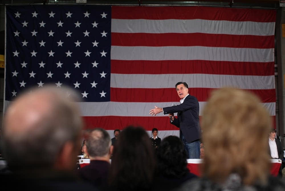 Romney in Fargo