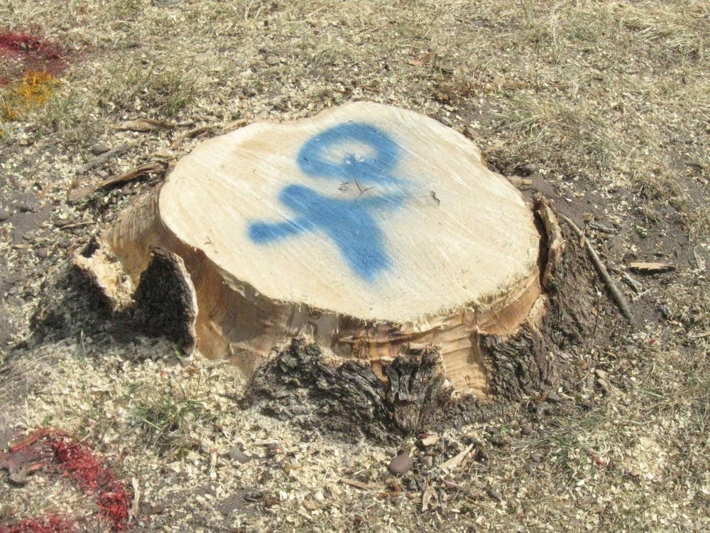 Ash stumps