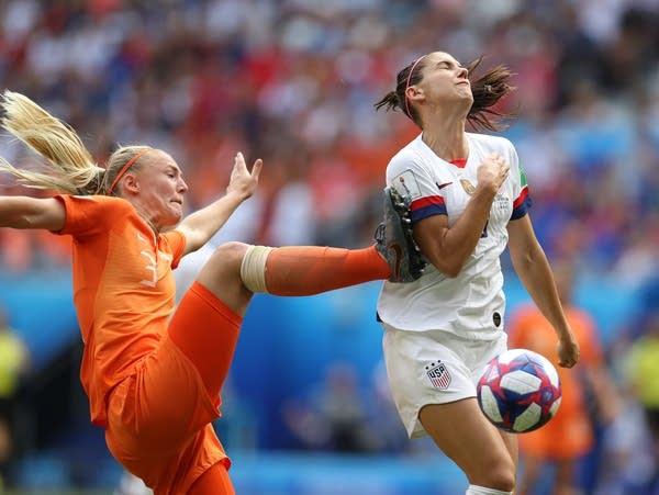 U.S. vs. Netherlands in Women's World Cup final
