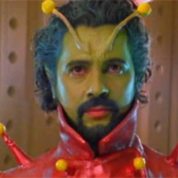 Wayne Coyne in Christmas on Mars