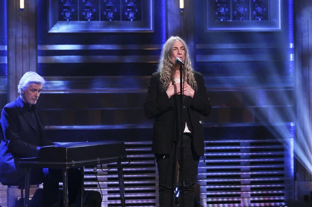 Patti Smith on The Tonight Show Starring Jimmy Fallon