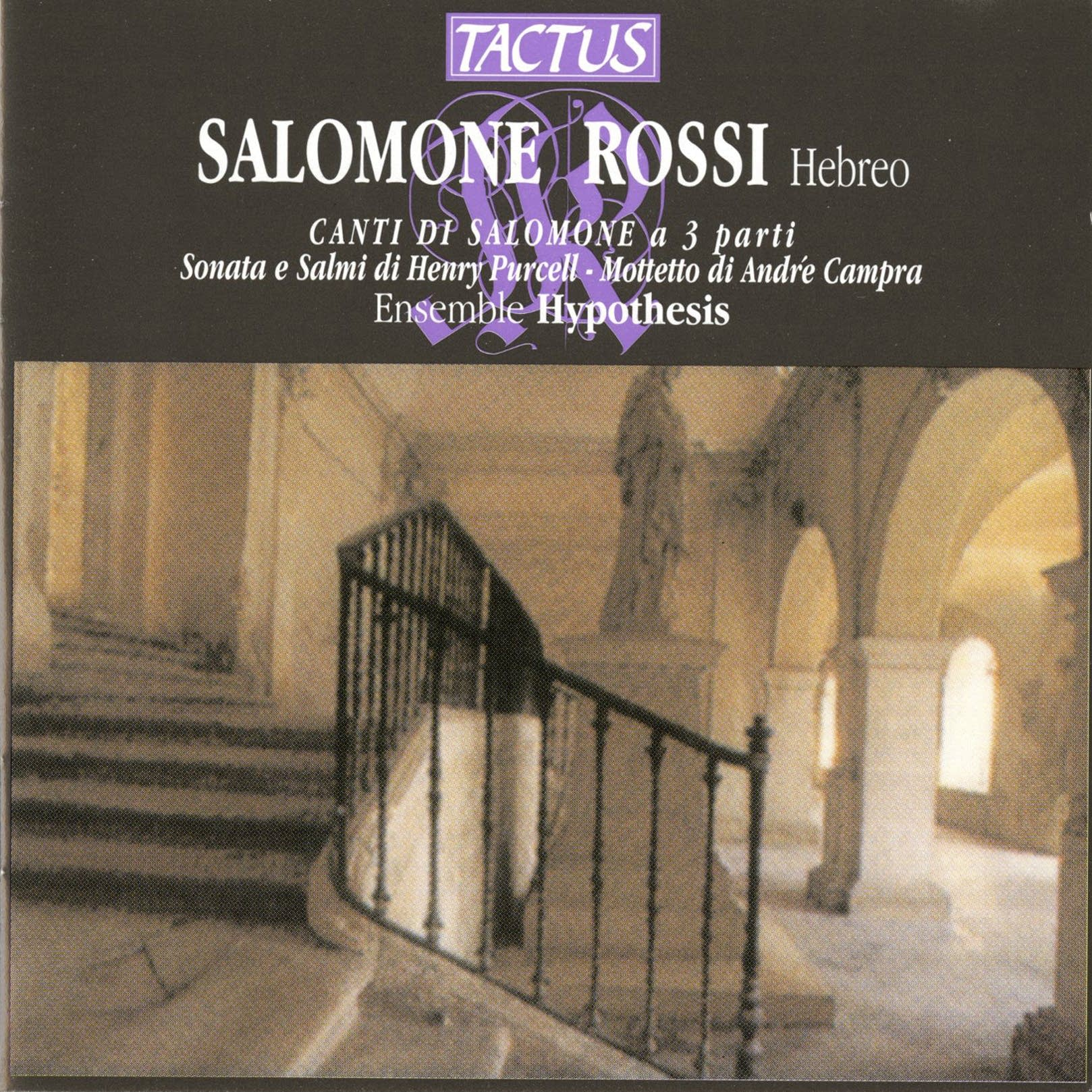 Salamone Rossi - Sinfonia Prima - Bar'chu