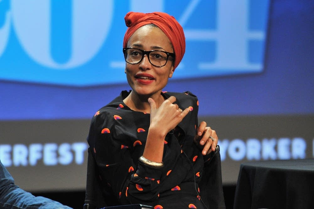 British novelist Zadie Smith