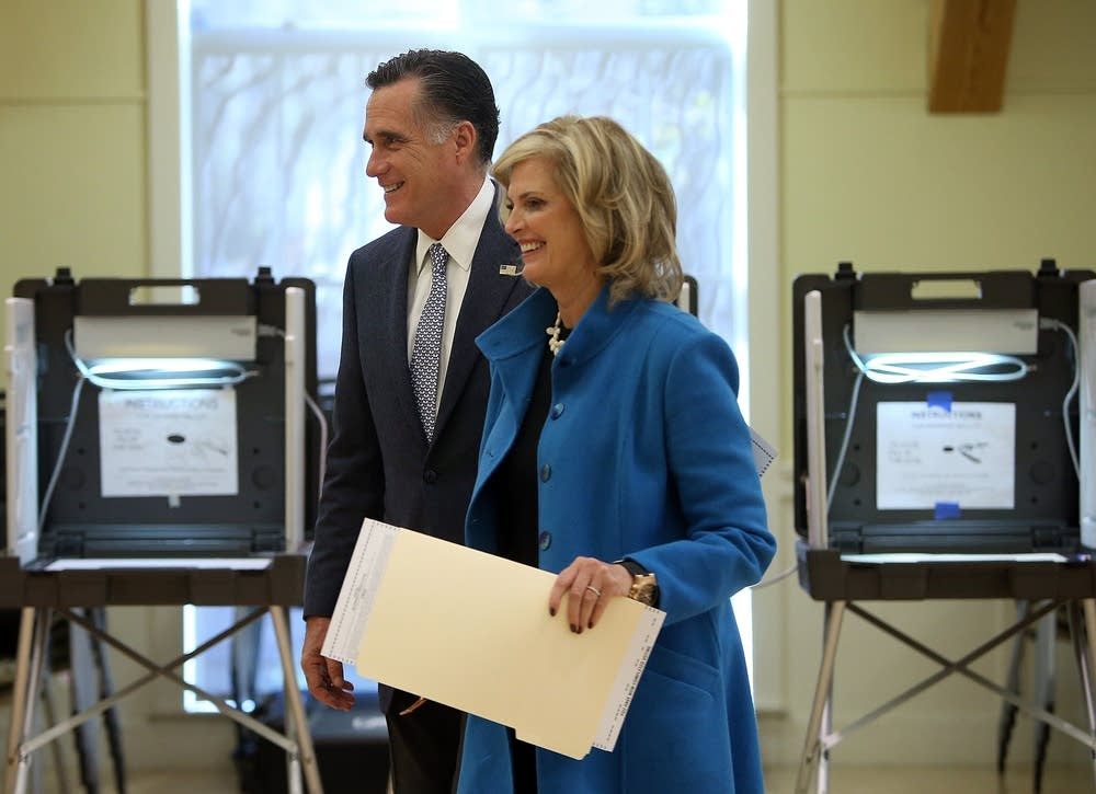 Ann and Fmr. Gov. Mitt Romney
