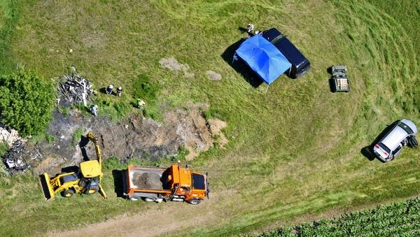 Digging near Wetterling site