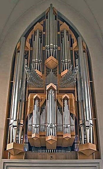 1992 Klais organ at the Hallgrimskirkja, Reykjavik, Iceland