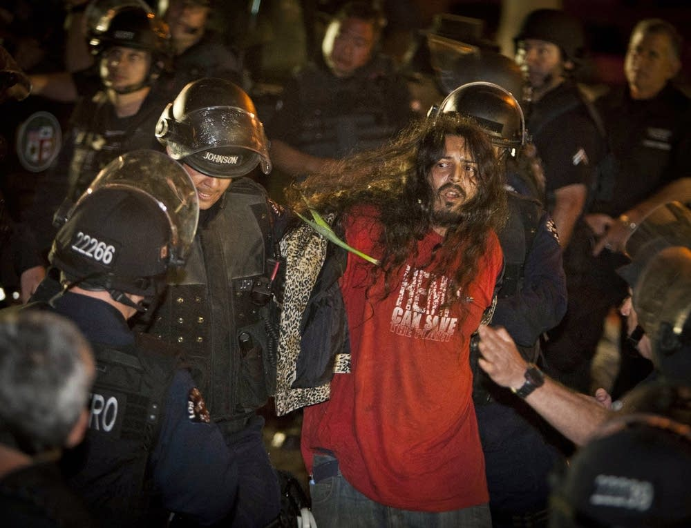 Occupy LA arrests