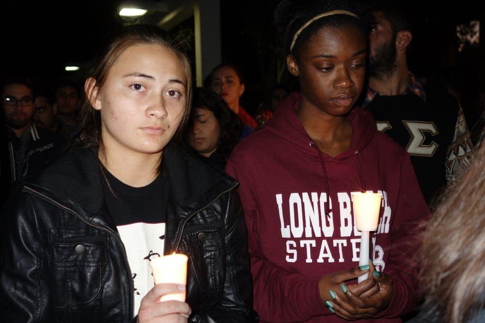 Vigil for slain student Nohemi Gonzalez