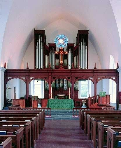 2003 Schantz organ at Saint Peter's Episcopal Church, Savannah, GA