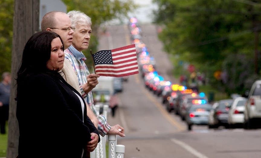 Bergeron funeral procession