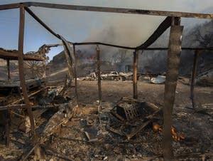 Blue Cut fire in southern California