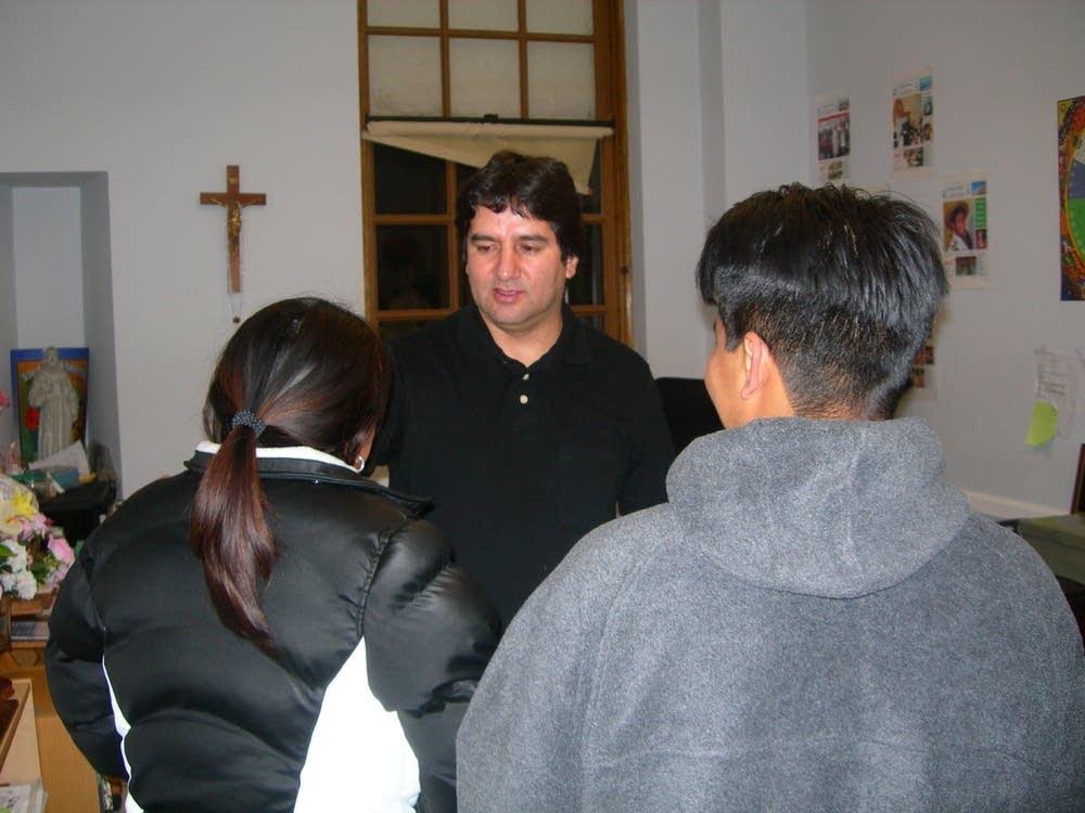 Rev.  Fredy Montero