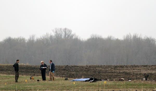 Glencoe plane crash site