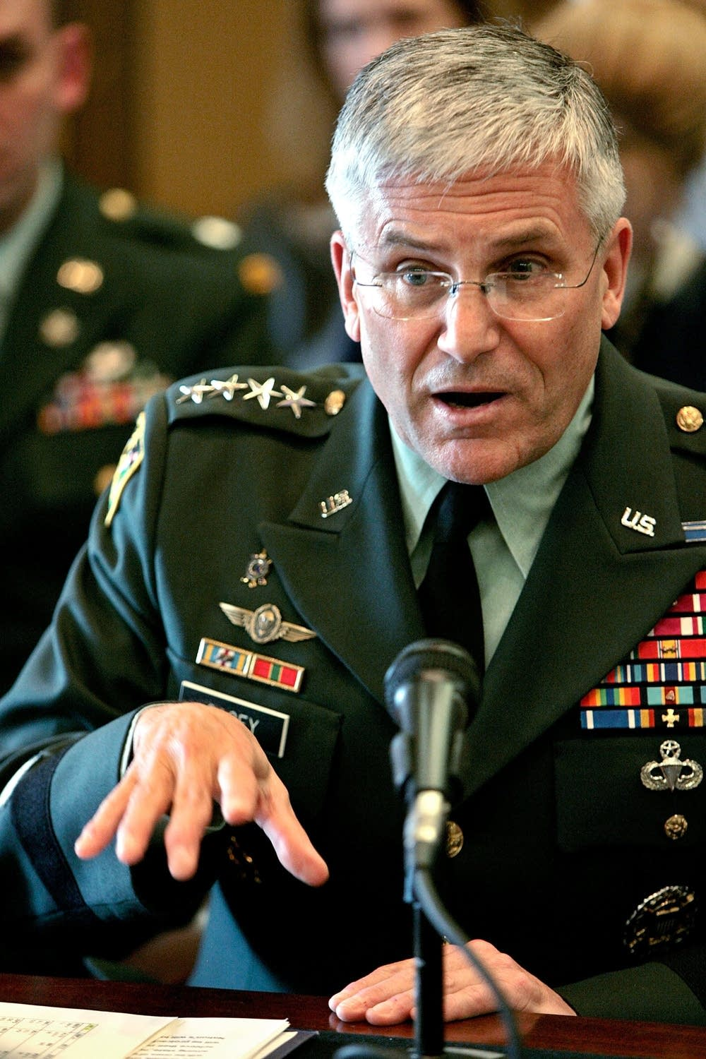 Army Chief Of Staff Casey Testifies On Army Budget