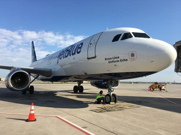 JetBlue lands in the Twin Cities today | MPR News
