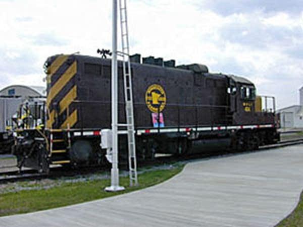Prairie Line train