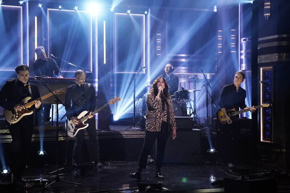 Alanis Morissette performs on 'The Tonight Show Starring Jimmy Fallon'