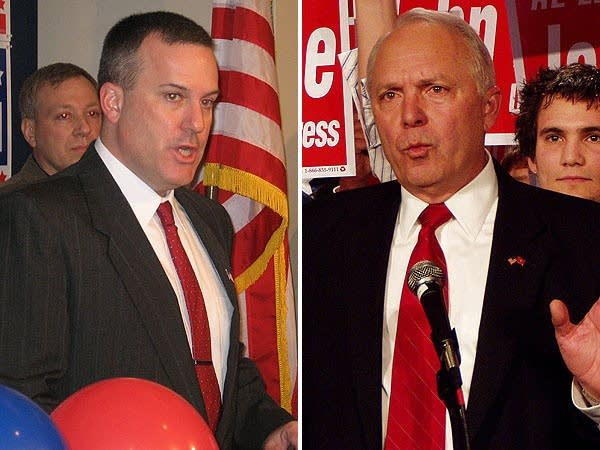 Steve Sarvi and incumbent John Kline